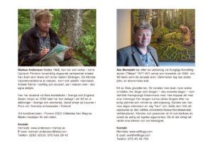 Markus Andersson, Åke Blomdahl